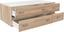 Zásuvka Base 3 - Sonoma dub, Konvenční, kompozitní dřevo (120/33/52cm)