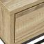 Písací Stôl Lotte - farby dubu/čierna, Moderný, kov/drevo (100/76/38cm) - Mömax modern living