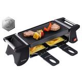 Raclette-Grill Duo - Schwarz, MODERN, Kunststoff/Metall (32/10/8,5cm)