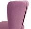 Stuhl Odense Rosa - Pink/Schwarz, MODERN, Holz/Textil (64/82/66cm) - Ombra