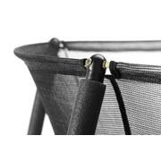 Trampolin Ø: 396cm mit Sicherheitsnetz/Salta Comfort - Schwarz, Trend, Kunststoff/Metall (396cm)
