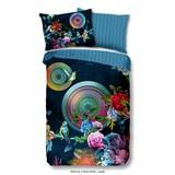 Bettwäsche Chachou 140/200cm Petrol/Multicolor - Multicolor/Petrol, Basics, Textil