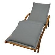 Liegenauflage Premium B: 62 cm Grau - Grau, Basics, Textil (62/8-9/195cm) - Ambia Garden