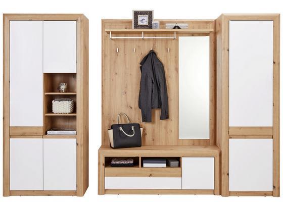 Odporúčaná Kombinácia Kashmir New 4 - farby dubu/biela, Moderný, kompozitné drevo (274/192/41cm) - James Wood