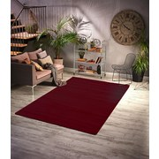Hochflorteppich Galaxy 160/230 - Rot, Basics, Textil (160/230cm)