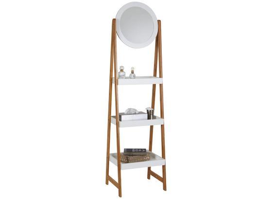 Regal mit spiegel scandi 43cm wei bambus online kaufen m belix - Regal mit spiegel ...