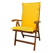 Sesselauflagenset Premium T: 120 cm Gelb - Gelb, Basics, Textil (50/8-9/120cm) - MID.YOU