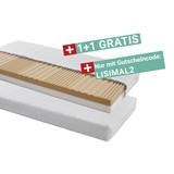 Kaltschaummatratze Lisi 90x200cm H2 - Weiß, KONVENTIONELL, Textil (90/200cm) - Primatex