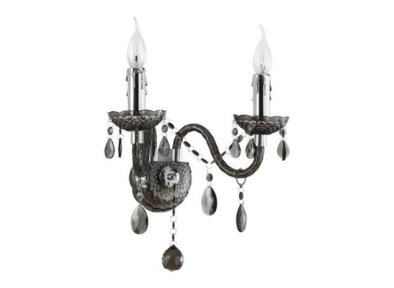 Nástěnné Svítidlo Isabella - Romantický / Rustikální, kov/umělá hmota (36/33cm) - Mömax modern living