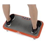 Vibrationsplatte Vibro Shaper - Orange/Weiß, MODERN, Kunststoff (62,5/12/38,5cm) - Mediashop