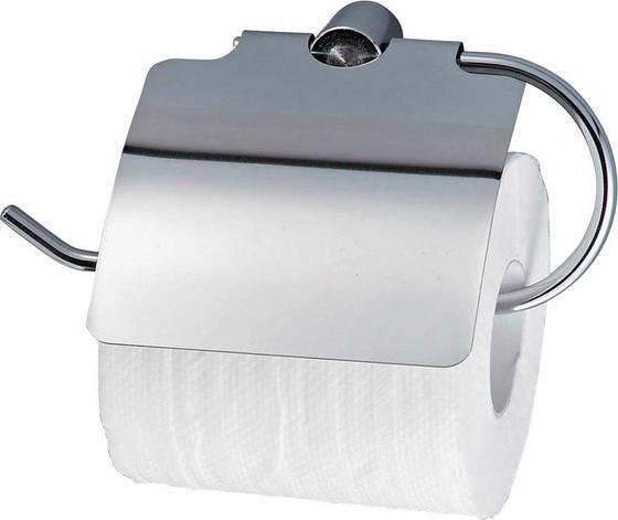 Držiak Na Toaletný Papier Tally - chrómová, Moderný, kov (19,50/12/5cm) - Homezone