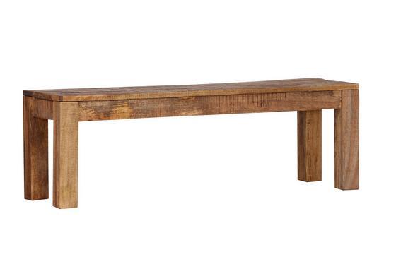 Lavica Industry - prírodné farby, drevo (140/40/45cm) - James Wood
