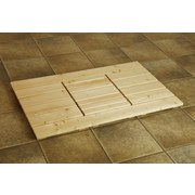 Saunazubehör Bodenrost - Fichtefarben, MODERN, Holz (61,5/100cm)