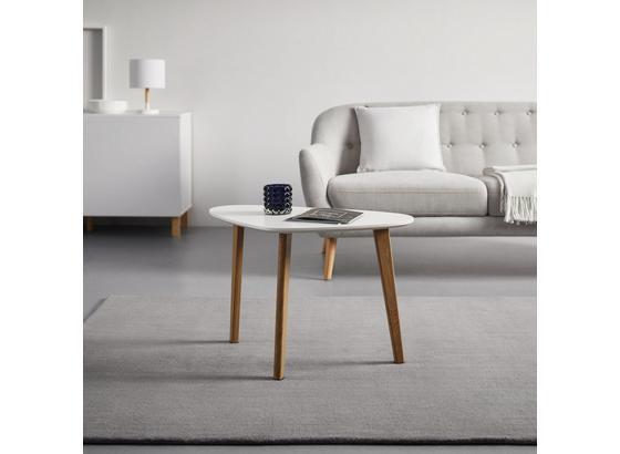 Konferenčný Stolík Kimi - biela/farby buku, Moderný, kov/drevo (40/70/46,5cm) - Mömax modern living
