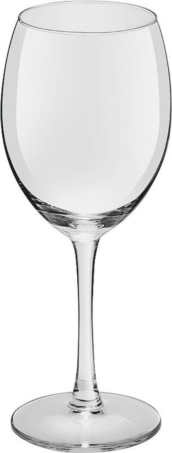 Rotweinglas Harriet 6er-pack - Klar, KONVENTIONELL, Glas - Ombra