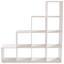 Deliaca Stena Pisa 6 - biela, Moderný, kompozitné drevo (149/150/35cm)
