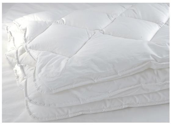 Prikrývka Do Poťahu 200x200 Cm - biela, Basics, textil (200/200cm)