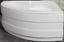 Eckwanne Menorca mit Schürze - Weiß, KONVENTIONELL, Kunststoff (140/140/45cm)
