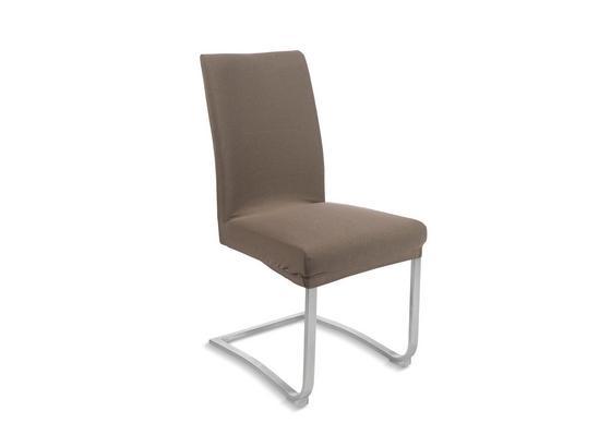 Přehoz Na Židli Dominik -ext- - šedohnědá, textil (48/64/48cm) - Mömax modern living