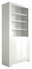 Regalelement Orlando 92cm Weiss - Weiß, MODERN, Holzwerkstoff (92/180/36cm)