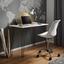 Písací Stôl Marc - čierna/biela, Moderný, kov/drevo (98/60/75cm) - Modern Living