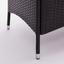 Loungegarnitur Valencia - Dunkelbraun/Creme, MODERN, Glas/Kunststoff (//null) - Ombra