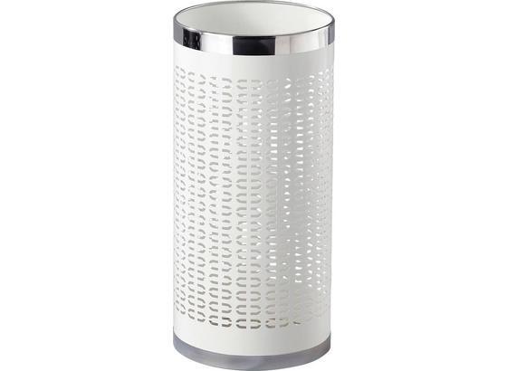 Stojan Na Dáždnik Girotti - biela/farby ušľachtilej ocele, Moderný, kov (23/50cm)