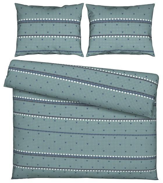 Povlečení Elke Xxl - modrá, Romantický / Rustikální, textil (200/200cm) - Mömax modern living