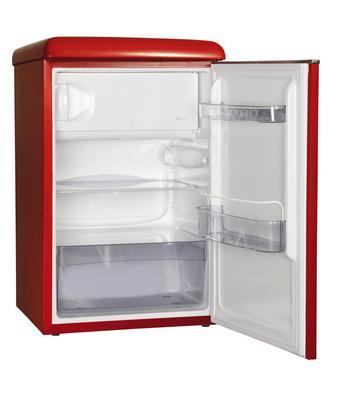 Kühlschrank in Rot