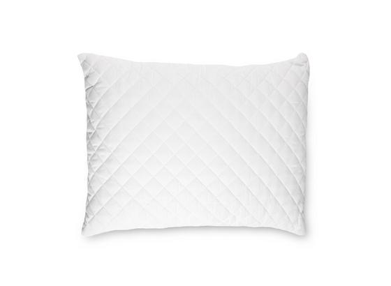 Kopfpolster Charlotta 70x90 cm - Weiß, KONVENTIONELL, Textil (70/90cm) - Primatex