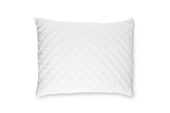 Kopfpolster Charlotta 70x90cm - Weiß, KONVENTIONELL, Textil (70/90cm) - PRIMATEX