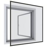 Insektenschutzgitter Rahmenfenster 100x120 cm - Anthrazit, KONVENTIONELL, Kunststoff/Metall (100/120cm)