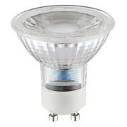 LED-Leuchtmittel Ally - Chromfarben/Weiß, KONVENTIONELL, Glas/Keramik (5cm)