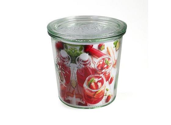 Einmachglas 580 ml - Klar, KONVENTIONELL, Glas (0,58l)