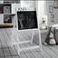 Tabule Na Malování Sami - šedá/bílá, Moderní (55,7/90/48cm) - Modern Living