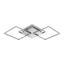 Led Stropná Lampa Jose - biela/strieborná, Konvenčný, kov/plast (75/37/6cm) - Premium Living