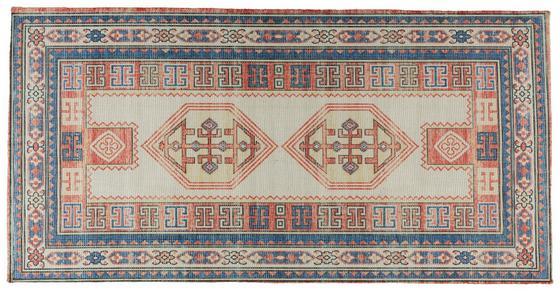 Hladce Tkaný Koberec Amelie - Multicolor, Romantický / Rustikální, umělá hmota (65/130cm) - Mömax modern living