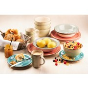 Frühstücksset 18-Tlg Lumaca - Dunkelblau, Basics, Keramik (45/23/32,5cm)