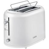 AEG Toaster Perfekter Morgen At 1350 - Weiß, MODERN, Kunststoff/Metall (43,5/17,2/31,2cm) - AEG