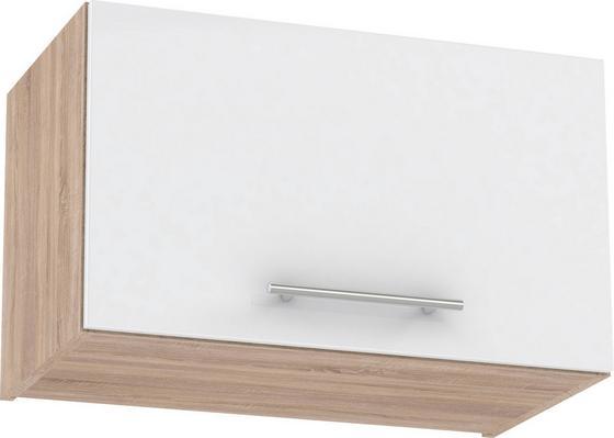 Konyha Felsőszekrény Multiforte - barna/Sonoma tölgy, modern, műanyag/fa (60/36,2/34,6cm)