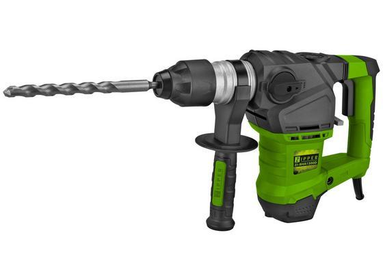 Bohrhammer ZI-BHA1500D - Schwarz/Grün, MODERN, Kunststoff/Metall - Zipper