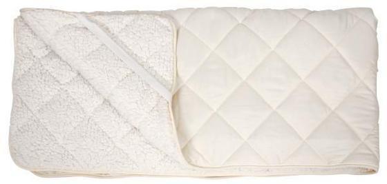 4-JAHRESZEITEN-UNTERBETT LAMMFLOR 95x195 cm - Creme, KONVENTIONELL, Textil (95/195cm) - Primatex