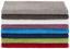 Gästetuch Liliane - Hellgrau, KONVENTIONELL, Textil (30/50cm) - Ombra