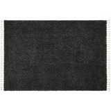 Webteppich Leon - Anthrazit, MODERN, Textil (160/230cm) - Luca Bessoni