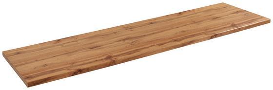 Arbeitsplatte Stella Typ 240 - Eschefarben, Holzwerkstoff (240/3,8/60cm) - Ombra