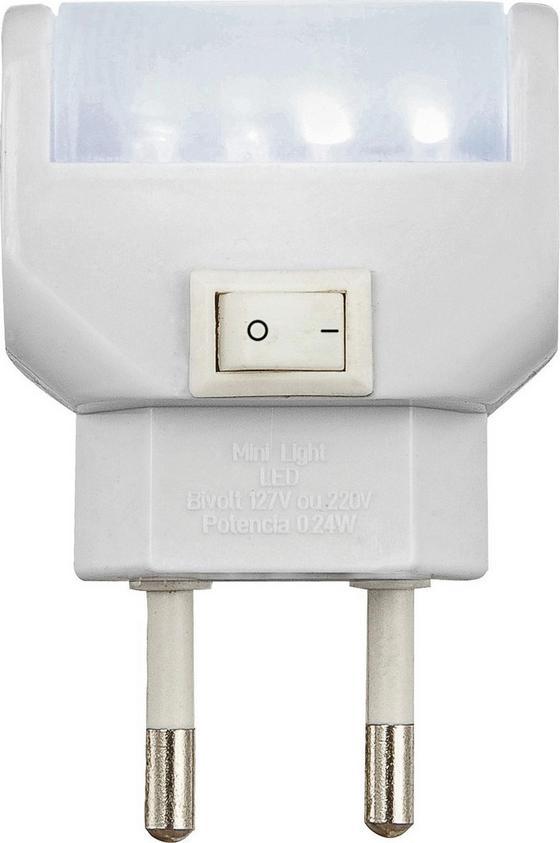 Nachtlicht Sabsi - Weiß, Kunststoff (4,7/2,5/7cm) - Homezone