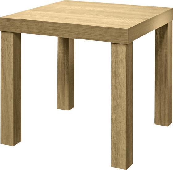 Odkladací Stolík Normen *cenovy Trhak* - dub sonoma, Moderný, kompozitné drevo (39 40 39cm)