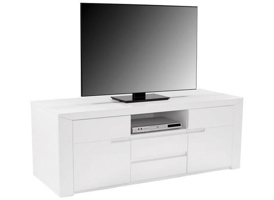 Tv Diel Bree - biela, Moderný, kompozitné drevo (159,8/55,5/49,2cm)