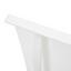 Záhradní Lehátko Jada - bílá, Moderní, kov/textil (49,5/20/177cm) - Modern Living