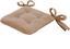 Sitzkissen Henri 40x40 cm - Sandfarben, KONVENTIONELL, Textil (40/40/6cm) - Ombra